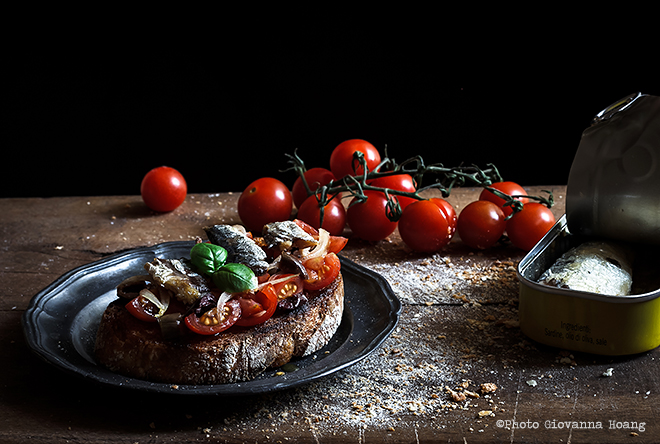 Das original italienische rezept bruschetta marinara for Ville in italia