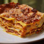 """Rezept für italienische Fleischlasagne: so kochen Sie sie """"alla Bolognese"""""""