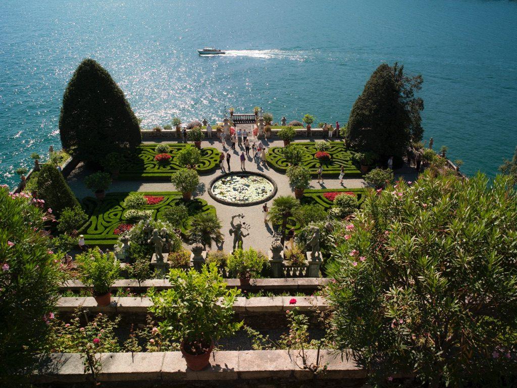 Borrom ische inseln verzauberte schiffe auf dem lago for Ville in italia