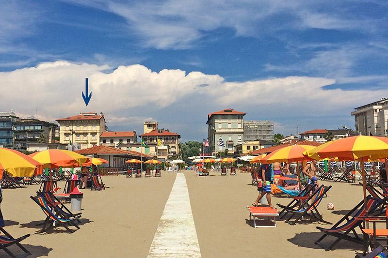 Sandare villen in viareggio zu vermieten ville in italia for Ville in italia